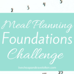 Meal Planning Challenge!