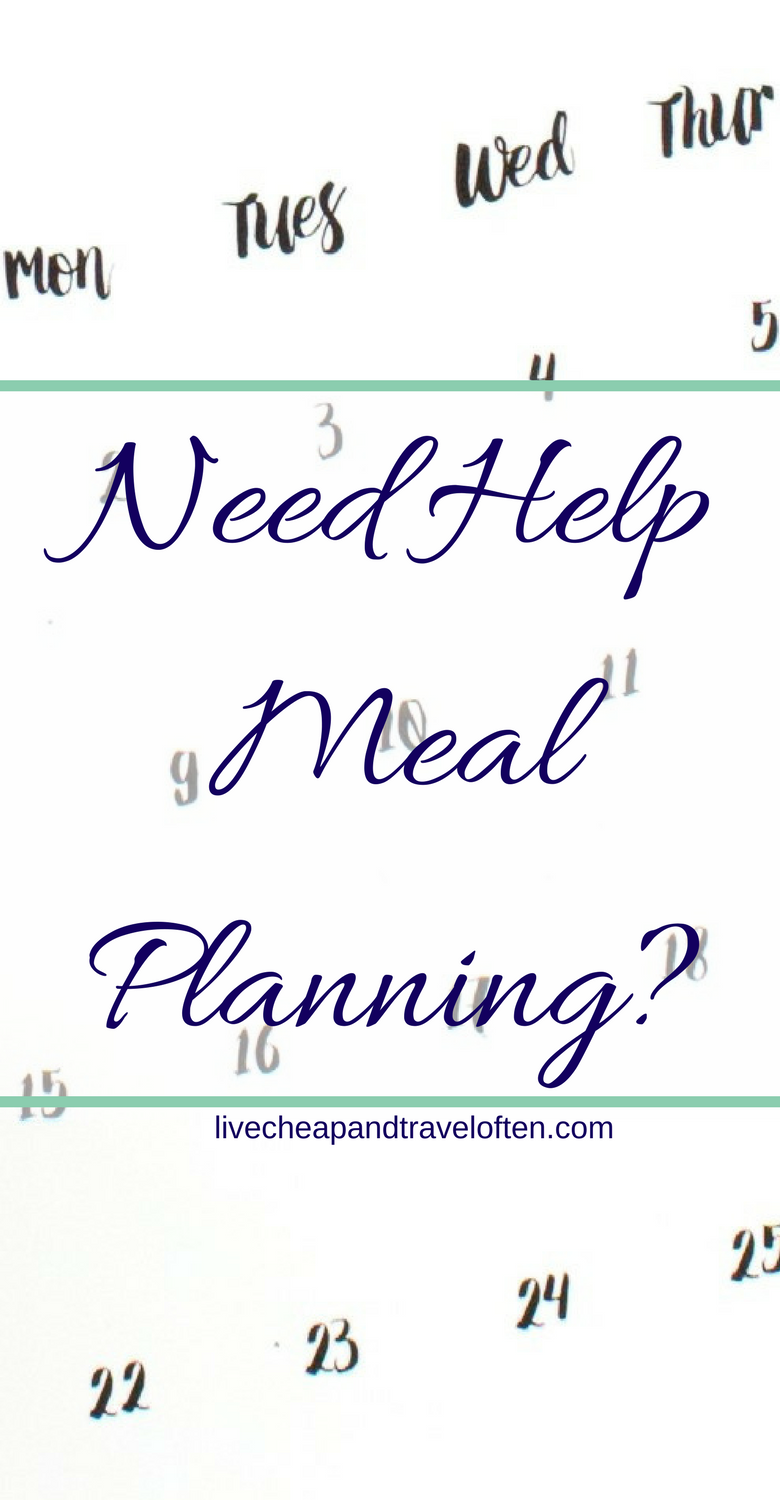 Need help meal planning?