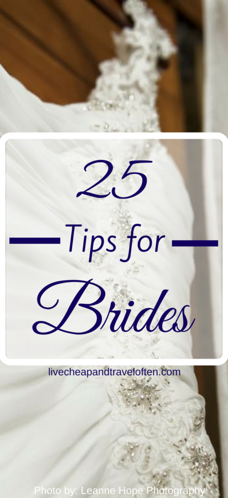 25 Tips for Brides